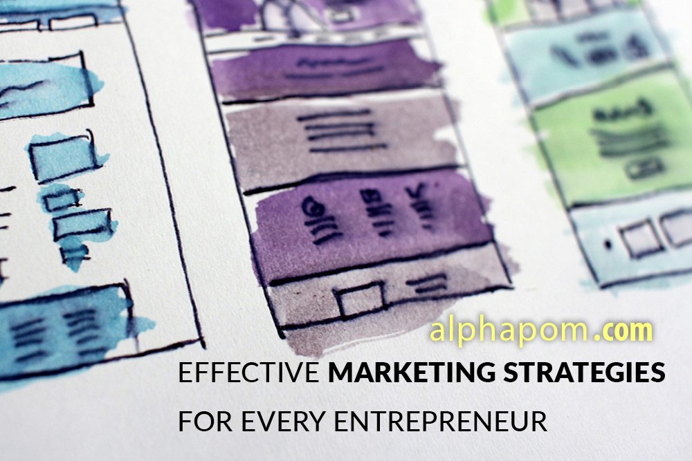 Effective Marketing Strategies for Every Entrepreneur