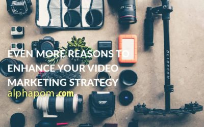 Even More Reasons to Enhance Your Video Marketing Strategy