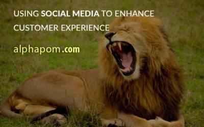 Using Social Media to Enhance Customer Experience