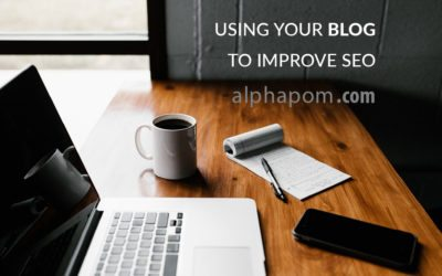Using Your Blog to Improve SEO