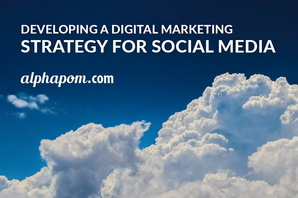 Developing a Digital Marketing Strategy for Social Media